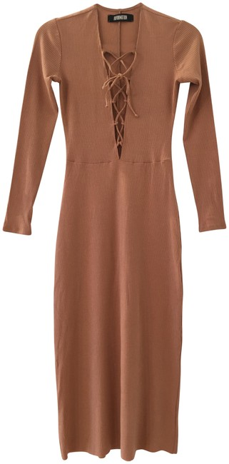 Preload https://item2.tradesy.com/images/reformation-tan-buff-nude-edison-lace-up-midi-mid-length-casual-maxi-dress-size-4-s-23339421-0-1.jpg?width=400&height=650