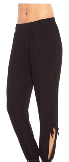 Preload https://item2.tradesy.com/images/black-french-terry-tie-joggers-activewear-pants-size-6-s-23339426-0-1.jpg?width=400&height=650
