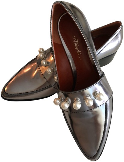 Preload https://img-static.tradesy.com/item/23339430/31-phillip-lim-dark-silver-pearl-loafer-flats-size-eu-39-approx-us-9-regular-m-b-0-1-540-540.jpg