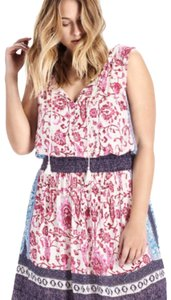 Lucky Brand short dress Pink Multi on Tradesy