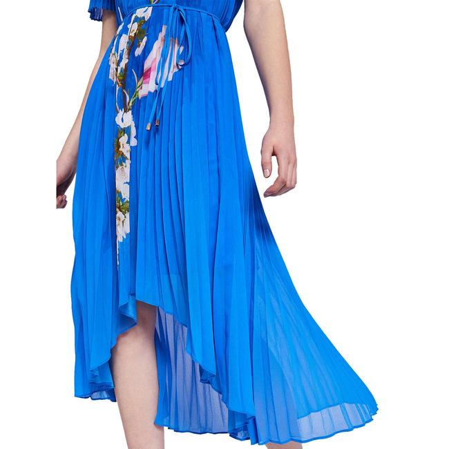 Bright Blue Maxi Dress by Ted Baker Melma Pleated