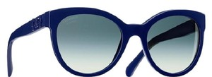 Chanel 5315 Lego CC Logo Cat Eye Pantos Signature Jumbo Oversized Cateye Blue