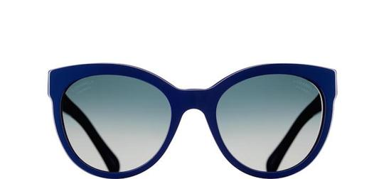 Chanel 5315 Lego CC Logo Cat Eye Pantos Signature Jumbo Oversized Cateye Blue Image 5
