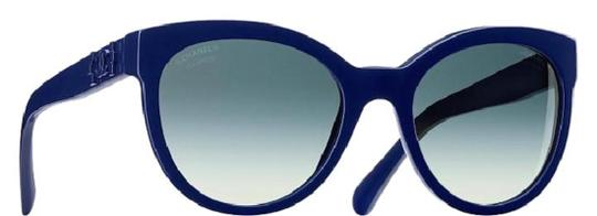 Chanel 5315 Lego CC Logo Cat Eye Pantos Signature Jumbo Oversized Cateye Blue Image 6