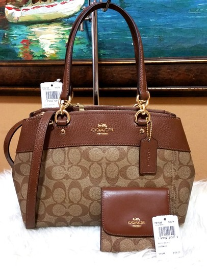 Coach Carryall 34797 36704 Christie Satchel in brown