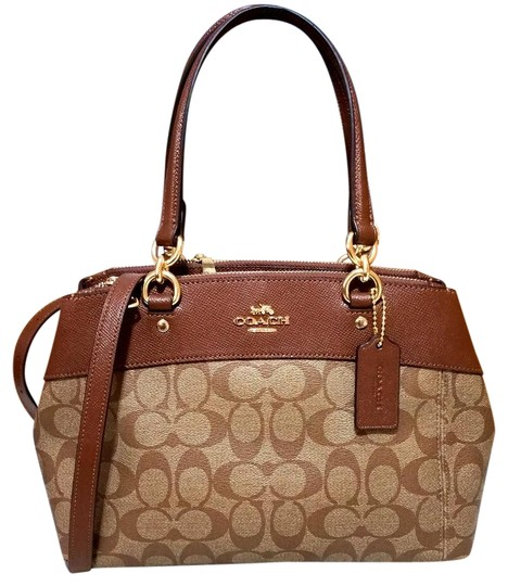 Preload https://item5.tradesy.com/images/coach-christie-mini-brooke-carryall-signature-f25928-26139-light-gold-saddle-leather-and-canvas-satc-23339519-0-2.jpg?width=440&height=440