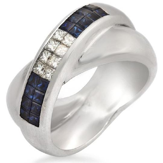 Preload https://item5.tradesy.com/images/18k-gold-invisible-setting-043-ct-diamonds-085-ct-blue-sapphire-ring-23339534-0-0.jpg?width=440&height=440
