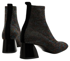 Zara Dark Gray with Shimmer Boots