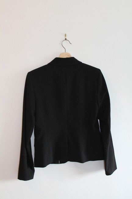 Calvin Klein Long Sleeve 2 Buttons Black Blazer