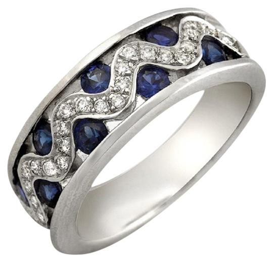 Preload https://item3.tradesy.com/images/18k-white-gold-026-ct-diamonds-and-120-ct-blue-sapphire-wedding-band-ring-23339612-0-2.jpg?width=440&height=440