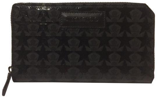 Preload https://item5.tradesy.com/images/jimmy-choo-black-new-cutout-overlay-zip-around-wallet-23339614-0-2.jpg?width=440&height=440