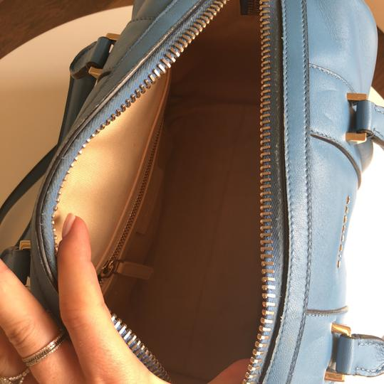 Givenchy Satchel in Baby Blue Image 4
