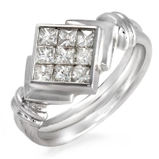 Preload https://item5.tradesy.com/images/084-ct-invisible-set-princess-diamonds-18k-white-gold-engagement-ring-23339714-0-0.jpg?width=440&height=440