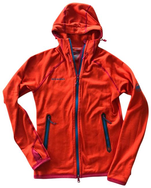 Preload https://item1.tradesy.com/images/orange-hooded-midlayer-jacket-activewear-size-8-m-23339735-0-1.jpg?width=400&height=650