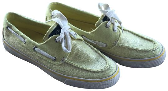 Preload https://item2.tradesy.com/images/sperry-chartreuse-sequin-sneakers-size-us-85-regular-m-b-23339766-0-2.jpg?width=440&height=440
