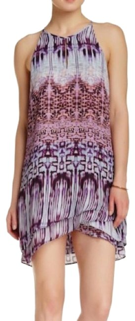 Parker short dress Purple on Tradesy