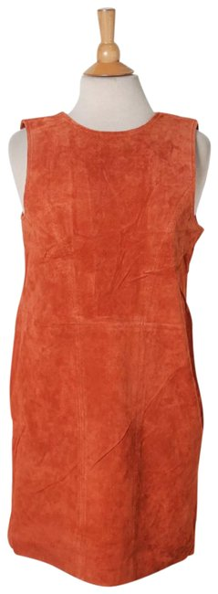 Preload https://item5.tradesy.com/images/tobi-orange-rust-color-leather-suede-shifting-sides-cutout-back-shift-short-casual-dress-size-8-m-23339819-0-1.jpg?width=400&height=650