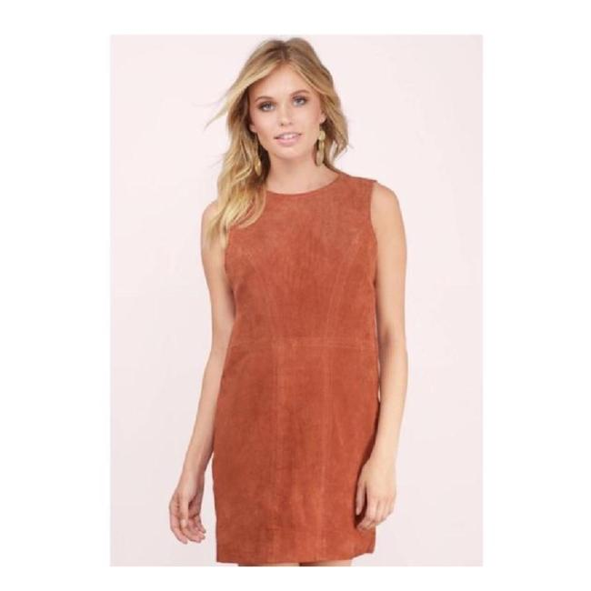 Tobi short dress orange on Tradesy