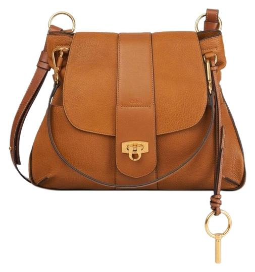 Preload https://img-static.tradesy.com/item/23339838/chloe-lexa-chole-mustard-brown-lambskin-leather-cross-body-bag-0-2-540-540.jpg
