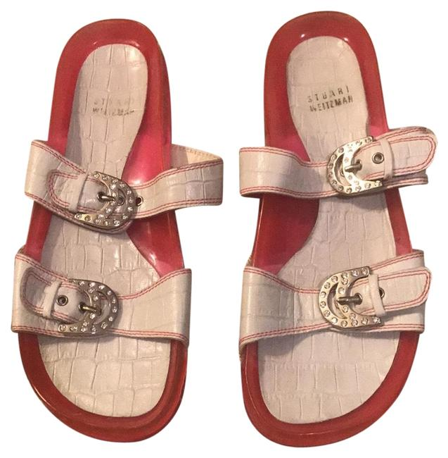 Stuart Weitzman J204224 Sandals Size US 6 Regular (M, B) Stuart Weitzman J204224 Sandals Size US 6 Regular (M, B) Image 1
