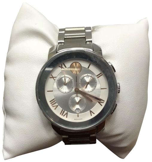 Preload https://img-static.tradesy.com/item/23339928/movado-rose-gold-and-silver-watch-0-2-540-540.jpg