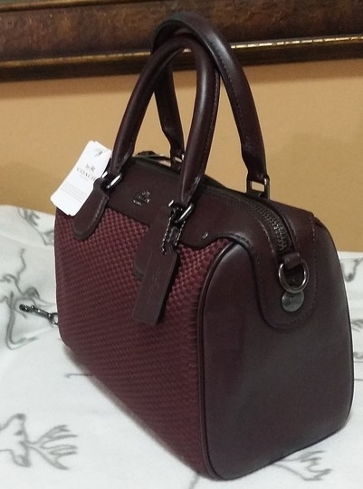 Coach F36689 Bennett Crossbody 36702 Satchel in oxblood