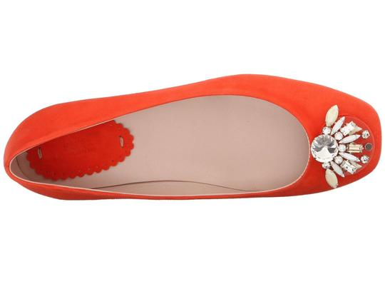 Furla Jevel Embroidered Ballerina Flats Image 2