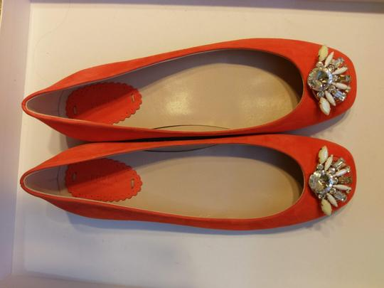 Furla Jevel Embroidered Ballerina Flats Image 6