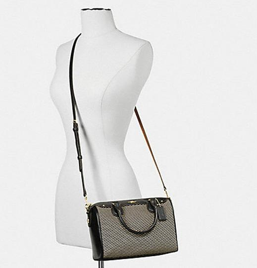 Coach F36689 Bennett Crossbody 36702 Satchel in black