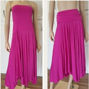 Magenta Flame Maxi Dress by INC International Concepts