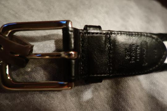 Coach Coach Heritage Braided Leather Belt 34
