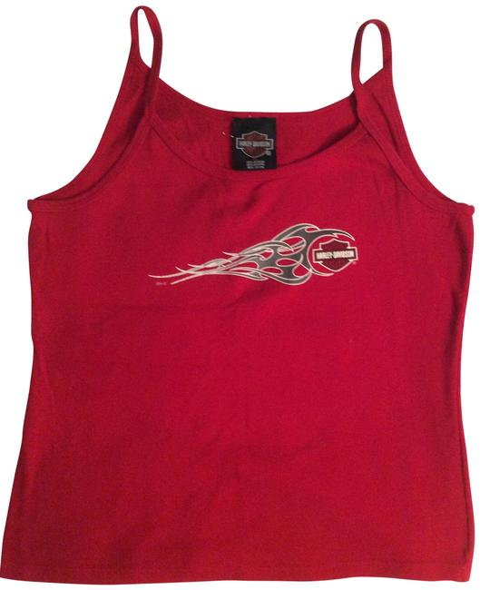 Harley Davidson T Shirt Red