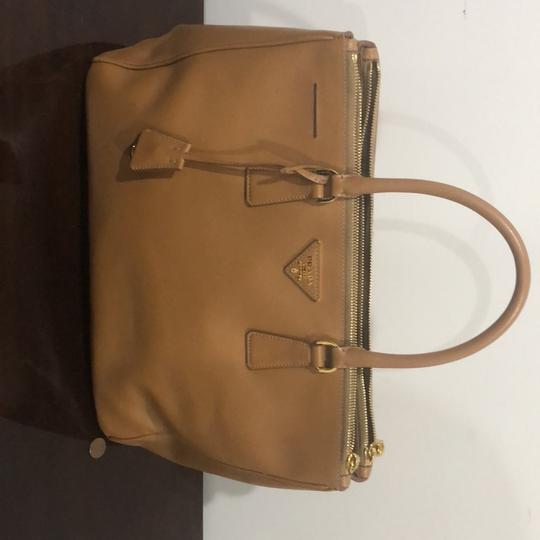 Prada Satchel in beige/brown