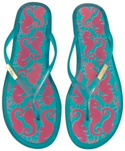 Lilly Pulitzer blue Sandals