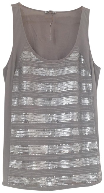 Preload https://img-static.tradesy.com/item/23340141/express-silver-embellished-tank-topcami-size-8-m-0-2-650-650.jpg