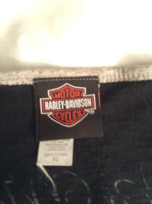 Harley Davidson T Shirt Black and Grey