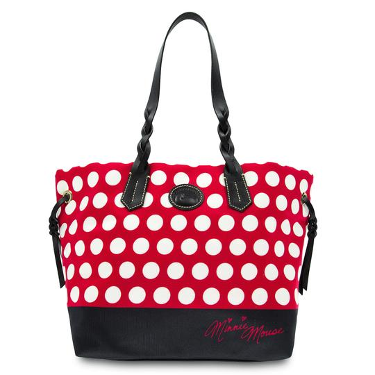 Preload https://item1.tradesy.com/images/dooney-and-bourke-minnie-mouse-red-canvas-tote-23340180-0-0.jpg?width=440&height=440
