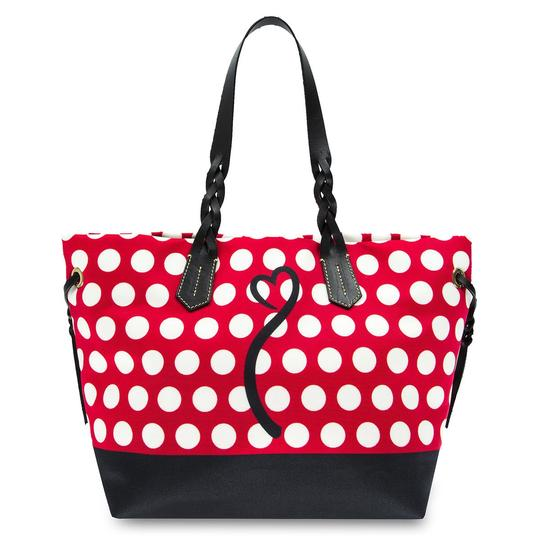 Dooney & Bourke Minnie Mouse Polka Dot Tote in Red
