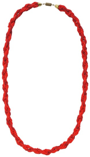 Preload https://item4.tradesy.com/images/anthropologie-red-beaded-rope-necklace-23340193-0-2.jpg?width=440&height=440