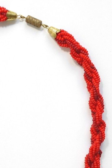 Anthropologie Beaded Rope Necklace
