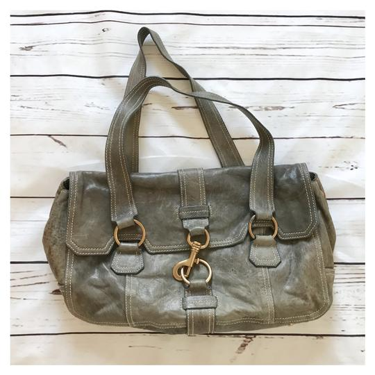 Preload https://item1.tradesy.com/images/miu-miu-distressed-grey-leather-shoulder-bag-23340230-0-0.jpg?width=440&height=440