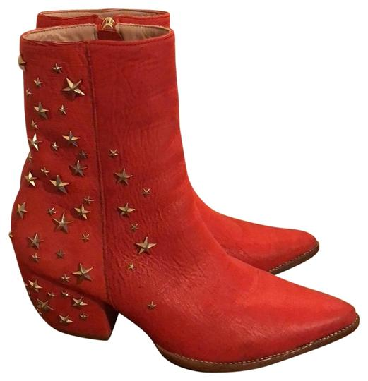 Matisse red Boots