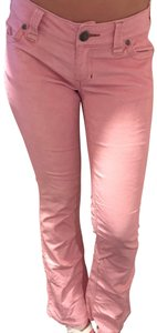 Twill Twenty Two Straight Pants pink