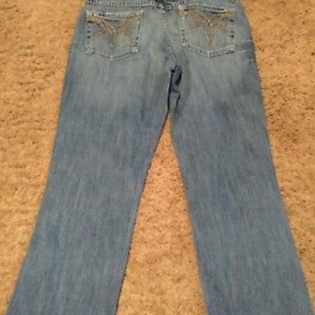 BKE Boot Cut Jeans-Distressed