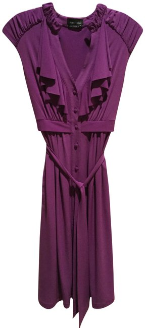 Preload https://img-static.tradesy.com/item/23340356/max-and-cleo-purple-jersey-button-down-mid-length-workoffice-dress-size-12-l-0-2-650-650.jpg
