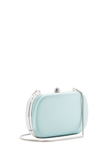 Badgley Mischka BLUE RADNC Clutch