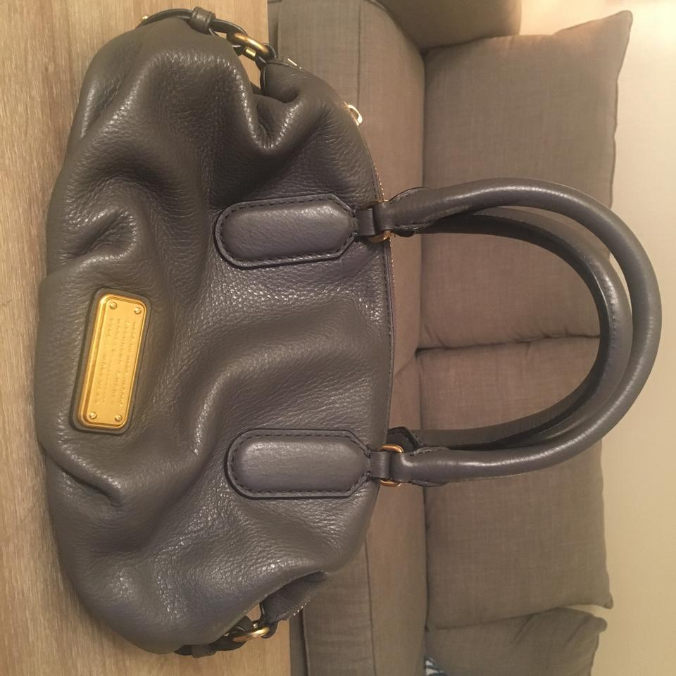 Leather by Marc Marc Gray Satchel Jacobs Taupe XT68qwwRx