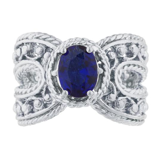 Preload https://item4.tradesy.com/images/15-ct-blue-sapphire-oval-cocktail-design-925-sterling-silver-ring-23340423-0-0.jpg?width=440&height=440