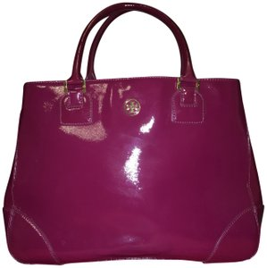 Tory Burch Tote Patent Leather Shoulder Bag