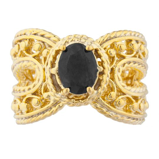 Preload https://img-static.tradesy.com/item/23340441/14kt-yellow-gold-plated-genuine-black-onyx-oval-cocktail-ring-0-0-540-540.jpg